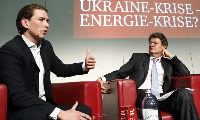 Helmut Brandstätter und Sebastian Kurz
