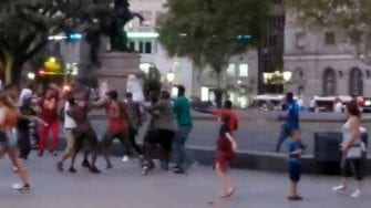 US Tourist Attacked By Traders In Barcelona