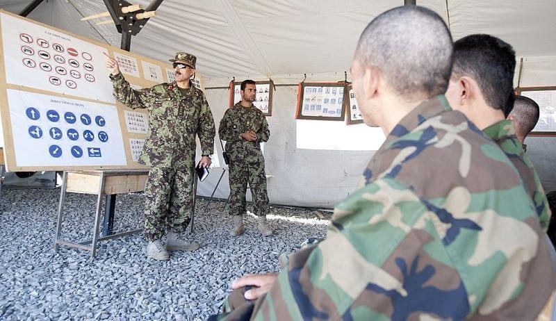 Afghanisches Militär