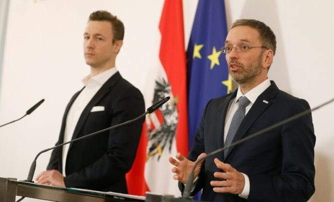 Gernot Blümel und Herbert Kickl