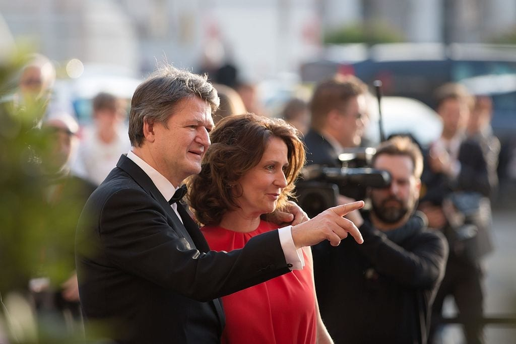 Helmut Brandstätter und Patricia Pawlicki
