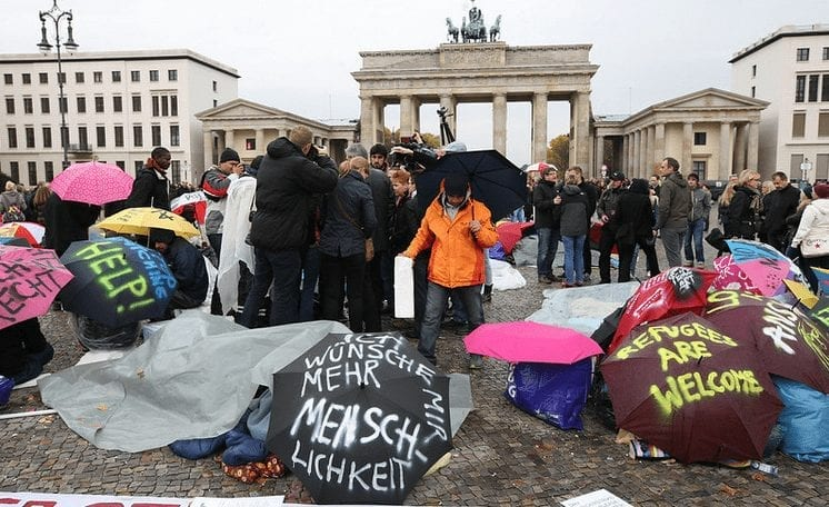 Berliner Flüchtlinge