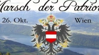 "26. Oktober: ""Marsch der Patrioten"" am Nationalfeiertag in Wien"