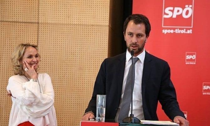 Jetzt trifft SPÖ-Landeschef Georg Dornauer auch noch die Antifaschismus-Keule