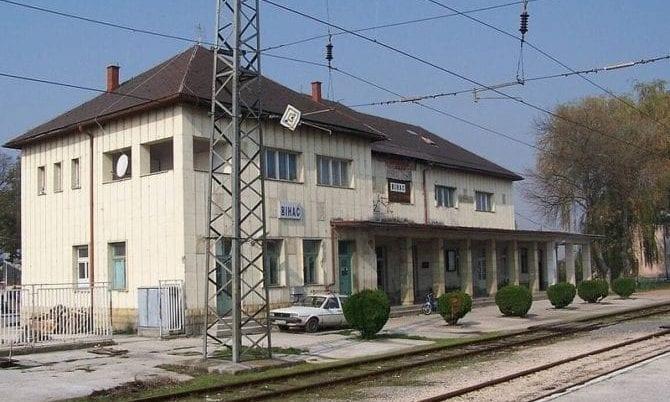 Bahnhof Bihac Bosnien