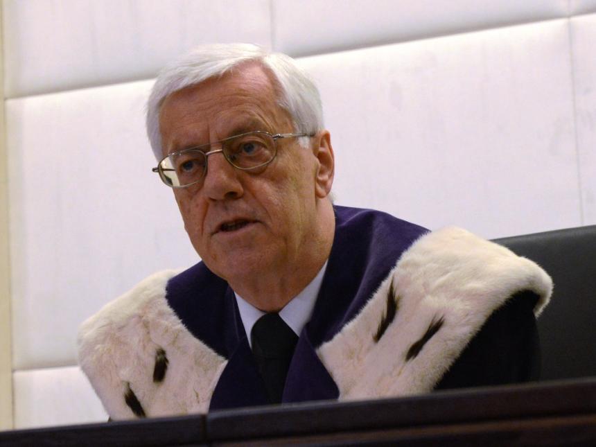 Gerhart Holziner - Präsident des Verfassunsgerichtshofs