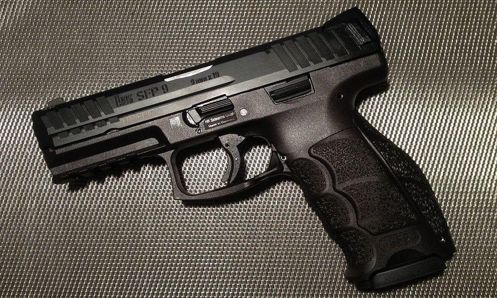 Polizei Pistole HK SFP9