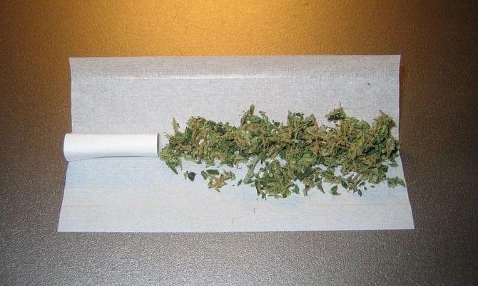 Hasch-Zigarette