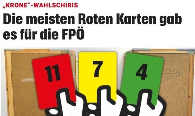 Screenshot / Kronenzeitung/RoteKarte