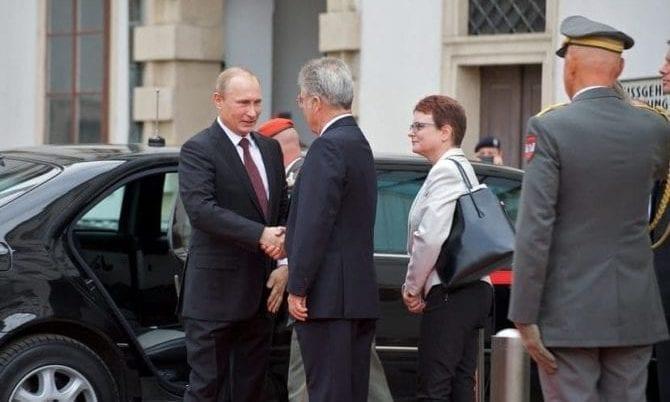 Heinz Fischer mit Wladimir Putin