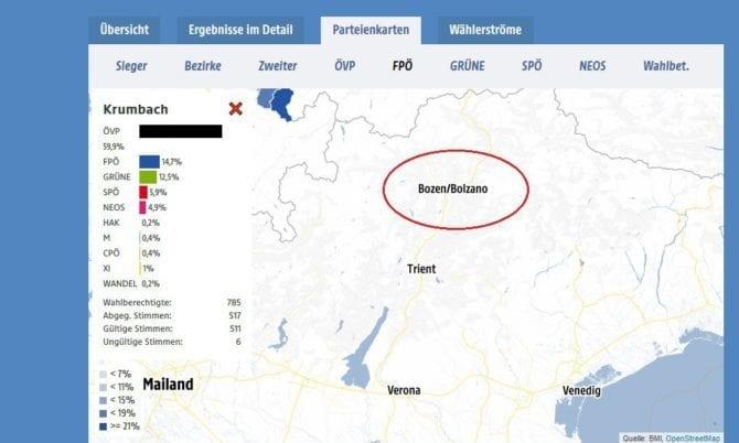 ORF-Screenshot Bozen