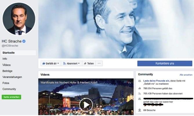 Facebook HC Strache
