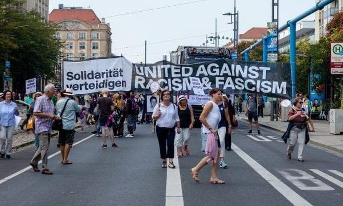 24.08.2019 - #unteilbar Großdemo Dresden
