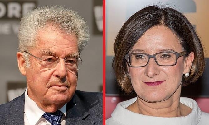 Heinz Fischer und Johanna Mikl-Leitner