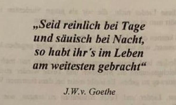 Goethe-Vers