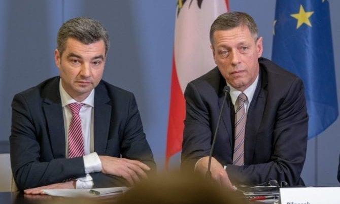 Wolfgang Peschorn und Christian Pilnacek