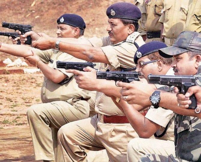 Indische Polizei