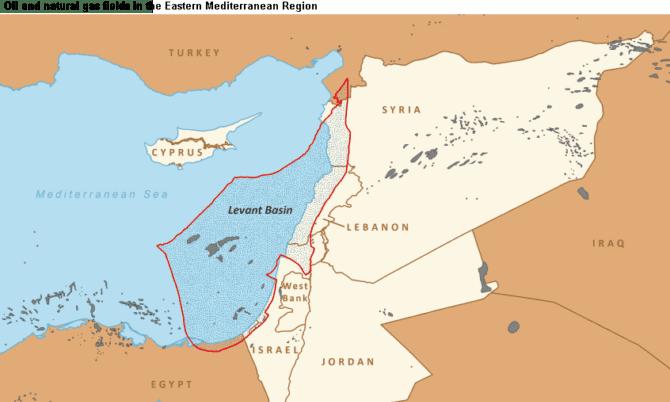 Leviathan Erdgasfelder Israel