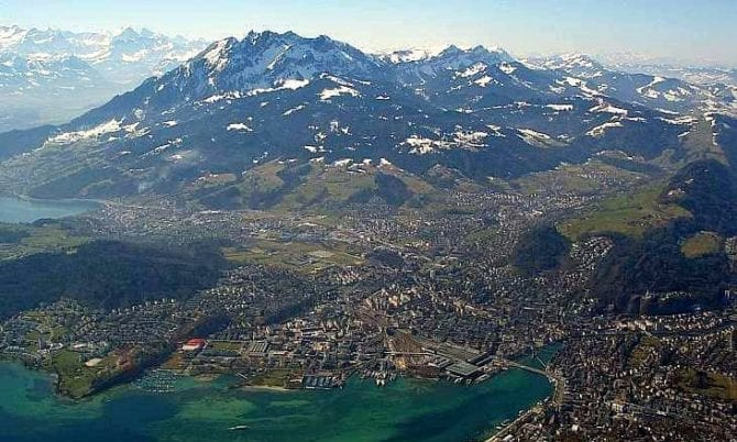 Berg Pilatus Luzern