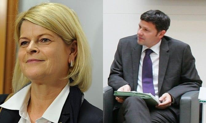 Klaudia Tanner und Stefan Steiner