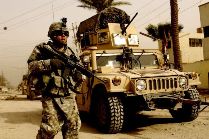 US-Truppen Irak