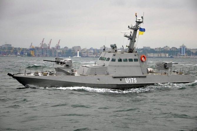 Ukranisches Panzerboot
