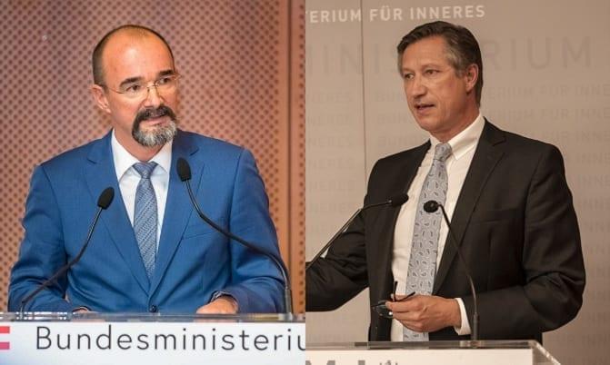 Karl Hutter und Mathias Vogl