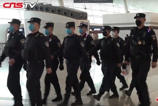 Militärpolizei Wuhan