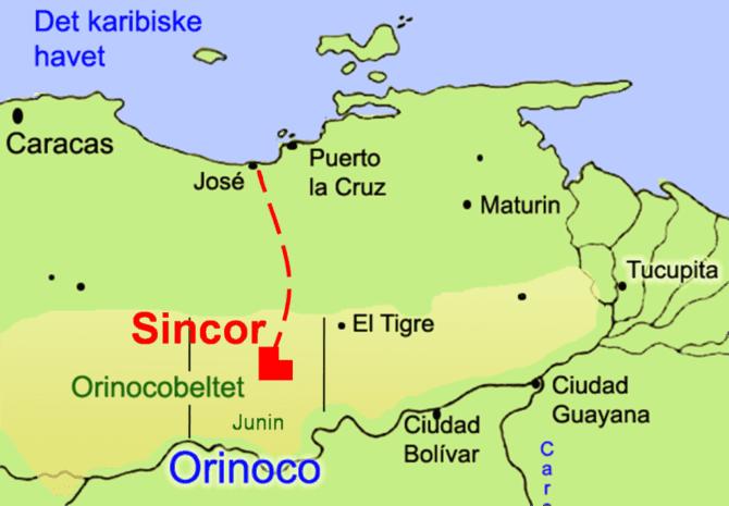 Venezuela Erdölförderung