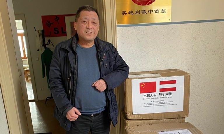 Chinesische Partnergemeinde schickt Bad Goisern 2.000 Schutzmasken