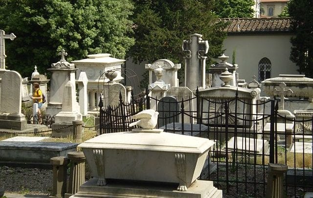 Friedhof in Italien