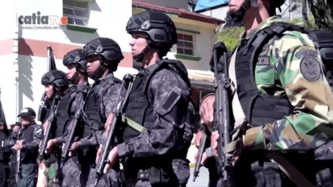 Venezulanische Sonderpolizei