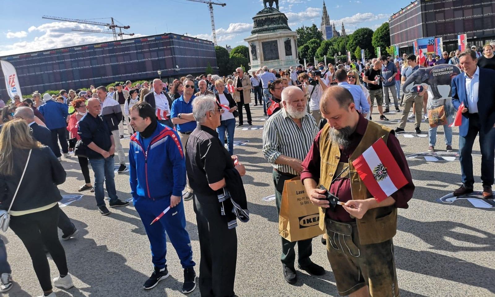 Demo Heldenplatz