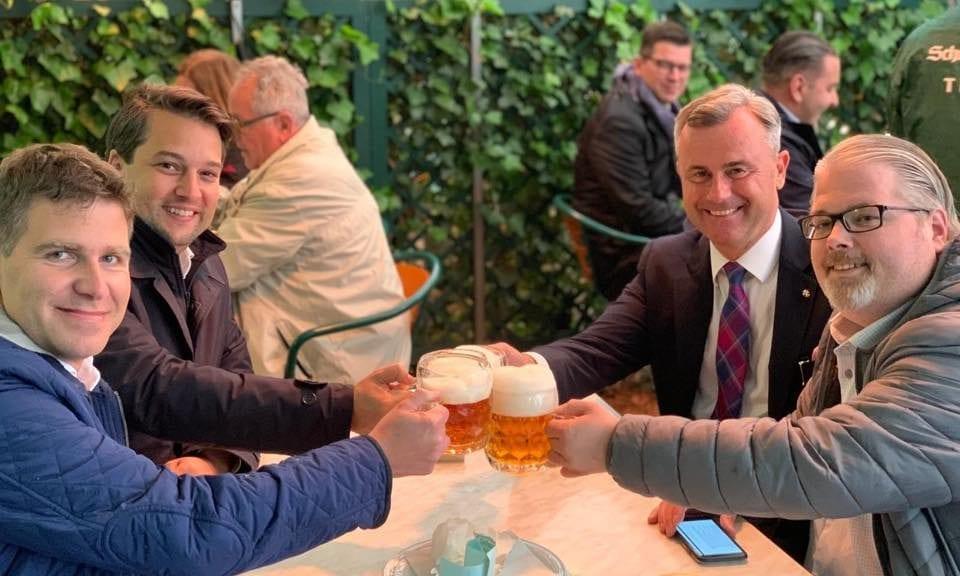 Dominik Nepp und Norbert Hofer