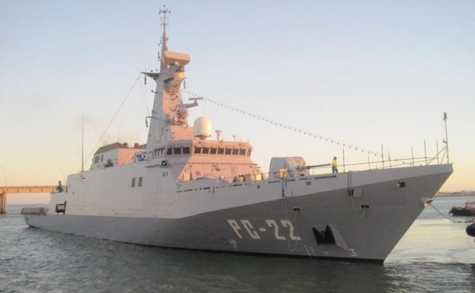 Venezulanisches Kriegsschiff