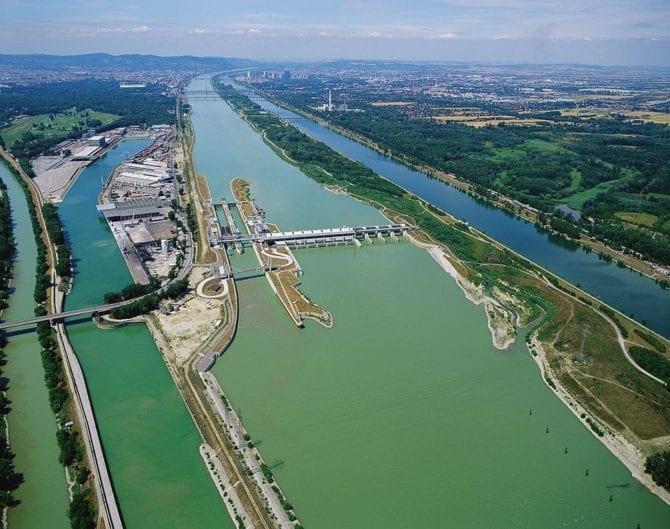 Donaukraftwerk Freudenau