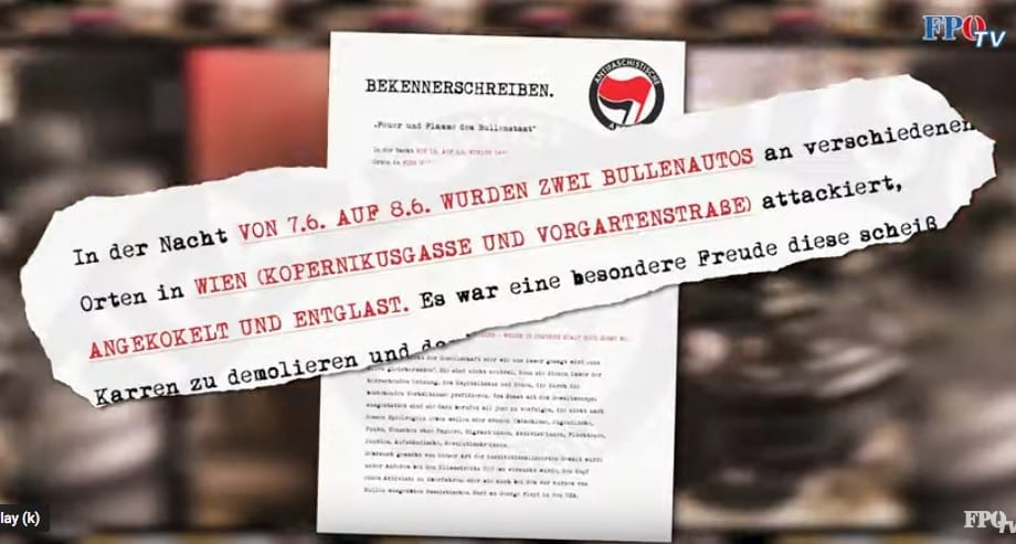 Screenshot / Youtube / FPÖ-TV