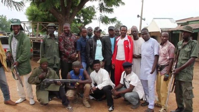 Nigerianische Selbstschutzmiliz