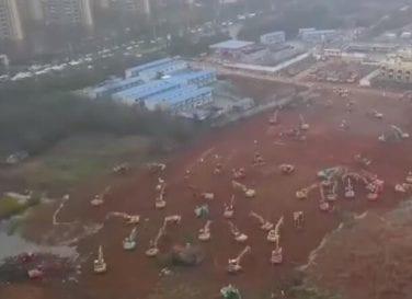 Wuhan Krankenhaus