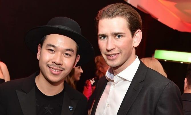 Sebastian Kurz und Martin Ho