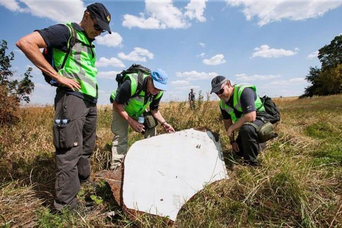 MH17 Wrackteile