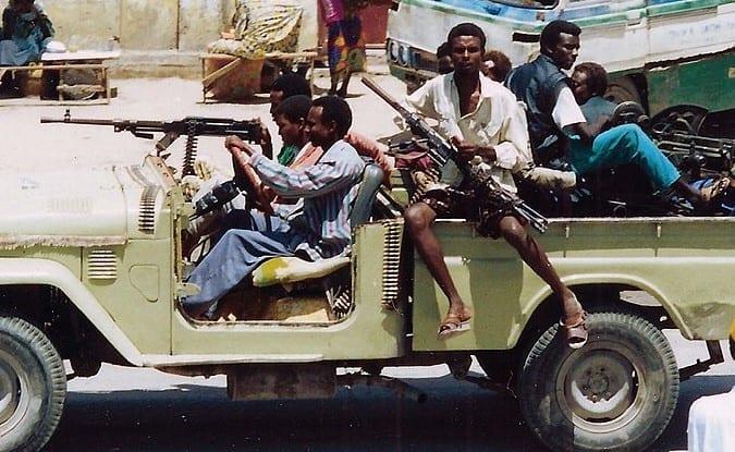 Miliz Afrika