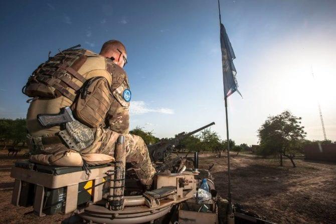 UNO Blauhelm Mali
