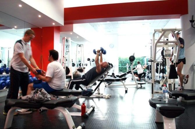 Fitnesstudio