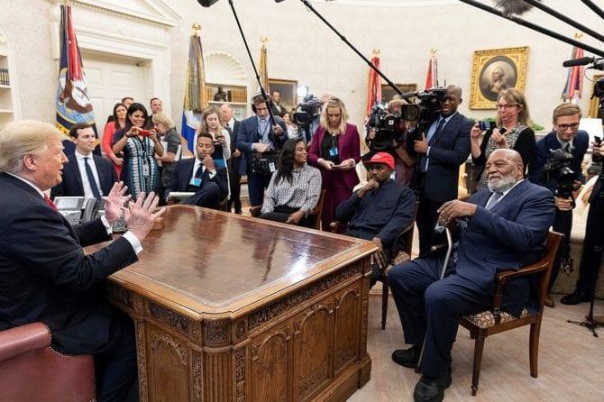 Donald Trump Kayne West