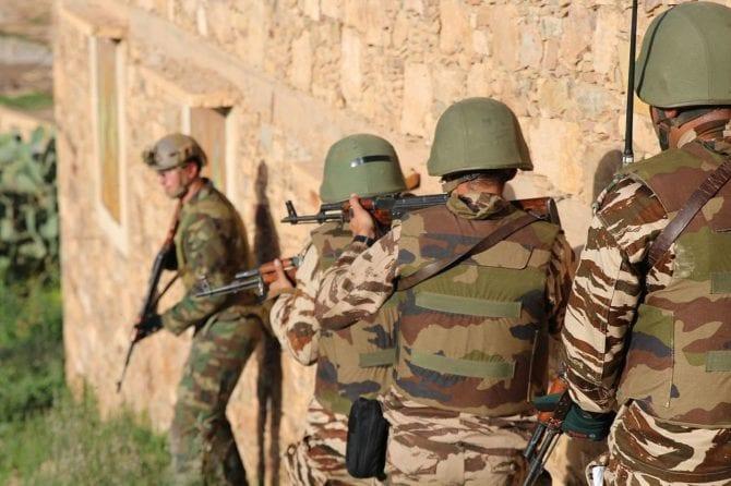 Marokkanische Sicherheitskräfte