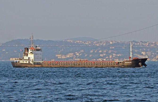 Frachter Rhosus