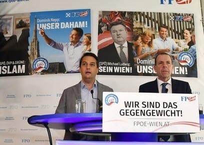 Wien Wahl Plakate