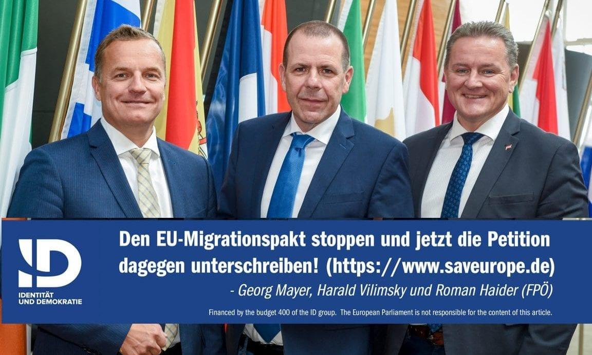 Jetzt unterschreiben gegen die Politik in Brüssel: Asyl- und Migrationspakt stoppen!