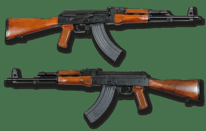 AK-47 Schnellfeuergewehr